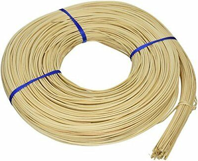 Commonwealth Basket Round Reed #3 2-1/4mm 1-Pound Coil, Approximately