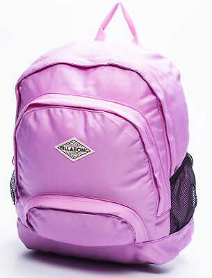 New + Tag Billabong 'electric' Backpack School Bag 22L Girls Womens Orchid