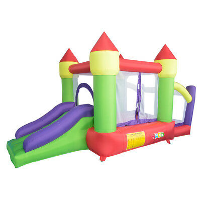 YARD Backyard Bouncy Jumping Castle Inflatable Bouncer Ball Pit Pool with Blower