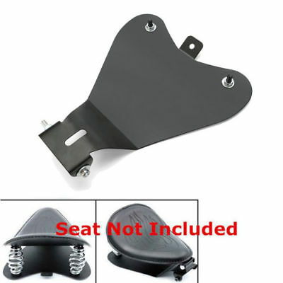 3'' Solo Seat Spring Mounting Bracket Kit W/ Baseplate Mount Hardware For Harley