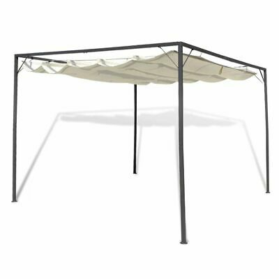 3x3m Outdoor Garden Gazebo Marquee Canopy Roof Awning Shade Frame Steel Party
