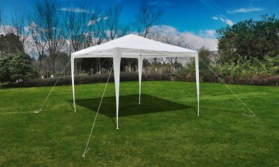 Outdoor 3x3m Party Tent White Gazebo Marquee Folding Canopy Wedding Shade