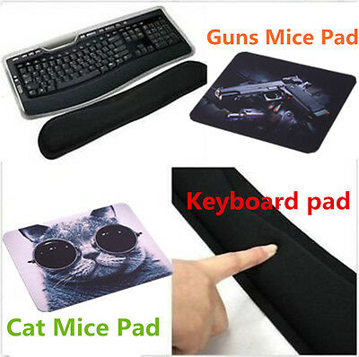 Gel Wrist Rest Support Comfort Pad for PC Keyboard Raised Platform Hands NEW MN