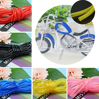 5M Hollow Rubber Tubing Jewelry Cord For Cover  Memory Wire Various Colour Craft