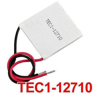 TEC1-12710 40x40mm Thermoelectric Cooler Peltier Cooling Plate Module 12V