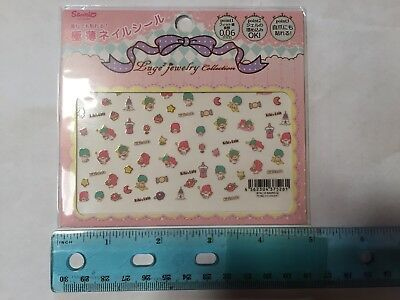 SANRIO Little Twin Stars Nail Stickers Made in Japan