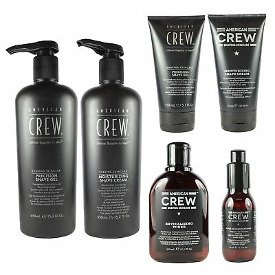 American Crew Men's Moisturising Shaving Cream Gel Ultra Gliding Shave Oil Toner