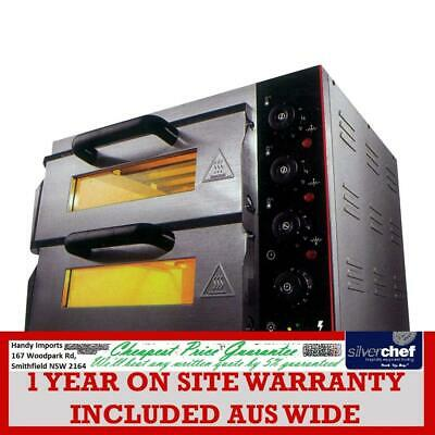 Electric Pizza Oven Double Deck - TEP-2SKW VALUE