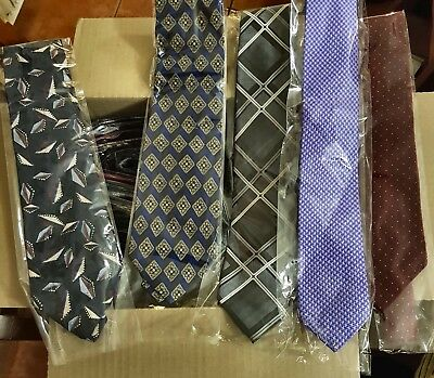 Bulk Lot x 50 Mens Fashion Ties - Mixed Brands - Imported - Free Postage - Box 2