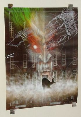 Original 1989 Arkham Asylum 28 by 21 1/2 DC Comics vintage Batman poster 1:Joker