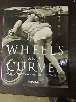 """""""Wheels & Curves"""": Fun Book of vintage photos of 1920's cars & naughty girls!"""