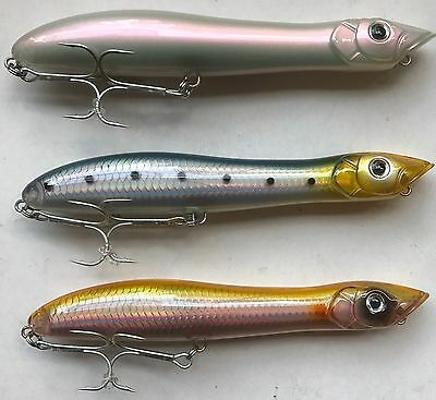 HTO Canine Bass Fishing Lure Patchinko Style Saltwater Bass Lure 135mm 26g