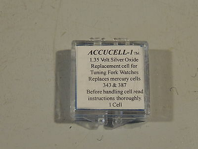 Accucell-1 Battery Bulova Accutron for calibre 214, 218, 219, 224, 230,2210,2310
