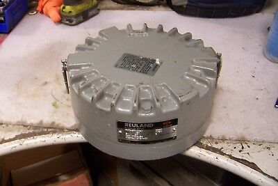 New Reuland 14B9 Magnetic Brake 480 Vac Type Occa 3 Phase 50 Lb Torque