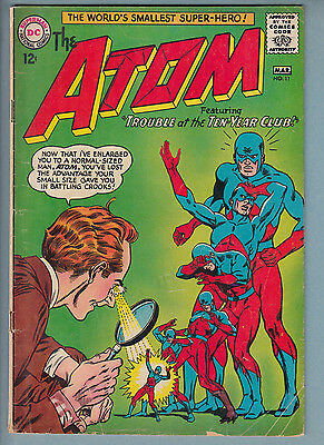 Atom 11 GD/VG (1964) DC Comic