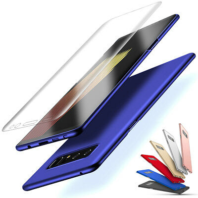 Samsung Galaxy Note 8 Case & Screen Protector Shockproof Hard PC Bumper Cover