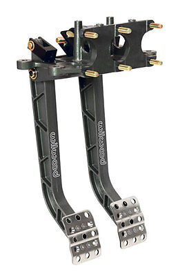 Wilwood Dual Pedal Assembly With 3 Master Cylinders , UMP, IMCA, Dirt Late Model