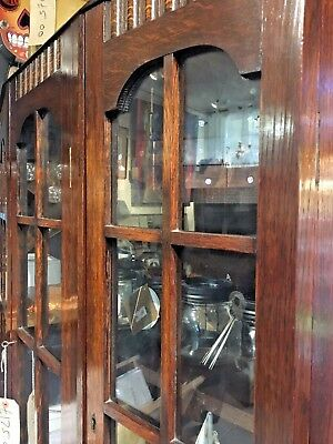 Vintage Display Cabinet bookcase with locking doors Shabby Chic Project?