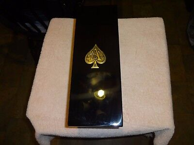 Beautiful Armand De Brignac Champagne Empty Box With Paperwork  (Ace of Spades)