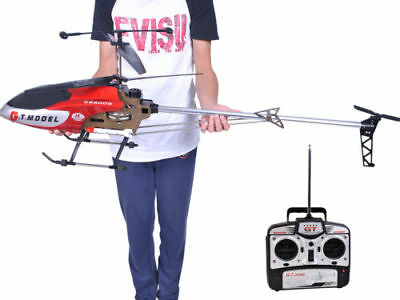 53 Inch Extra Large GT 2 Speed 3.5 Ch RC Helicopter Builtin GYRO Remote Control