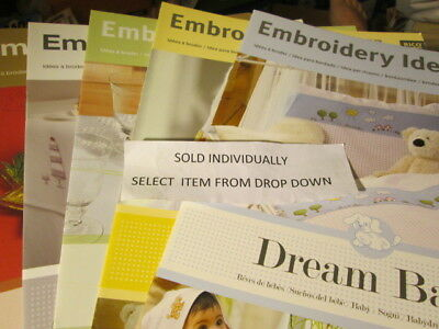 Rico Designs Stick-Idee Emboidery Idea Leaflet-Your Choice