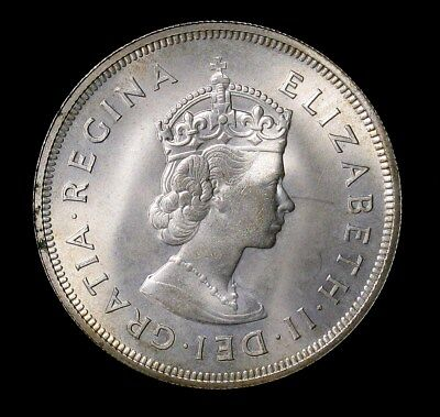 1959 Bermuda Crown silver coin Uncirculated
