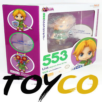 Good Smile Legend of Zelda Link Majora's Mask 3D Nendoroid 553 Action Figure NEW