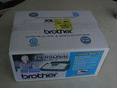 brother FAX-575 Plain Paper Fax + Phone + Copier - New - Sealed Box - NOS