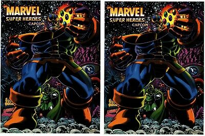 Marvel Super Heros Arcade Game Side art decal set