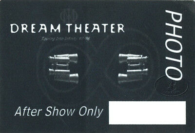 DREAM THEATER 1997-98 Backstage Pass PHOTO