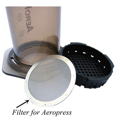 Ultra Metal Filter Fine Stainless Steel Coffee Filter Pro&Home for AeroPress AU