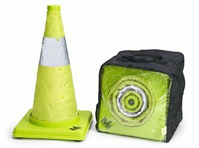 Mutual Industries 17712-4-18 Collapsible Reflective Traffic Cone with