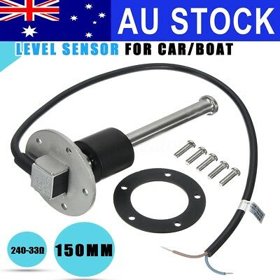 AU 150mm Boat Fuel Sensor Water Level Sender Car Truck Marine Gauge 240-33ohms