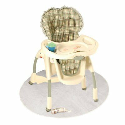 J is for Jeep Baby High Chair Floor Protector, Clear, Plastic, Toddler