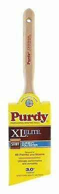 Purdy 144152530 XL Elite Series Glide Angular Trim Paint Brush, 3 inch