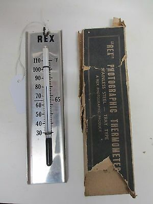 """REX"" Photographic Thermometer"