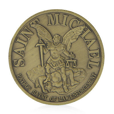 Washington Saint Michael Commemorative Challenge Coins Collection Business Gifts