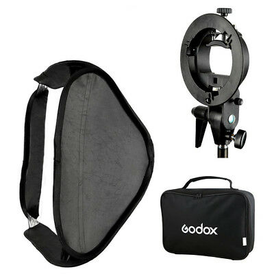 Godox Pro Folding 80*80cm Flash Soft Box Kit with S-type Bowens Mount