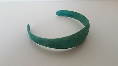 Ancient Viking Bronze Bracelet .Beautiful Patina! (17 gr) 9-10century AD.