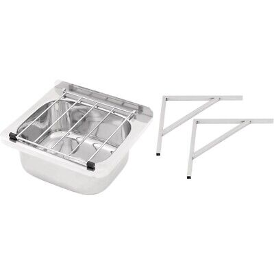 Cleaners Sink with Grate & Brackets 31.2 Ltr BARGAIN