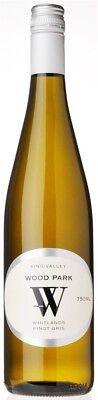 Wood Park `Whitlands` Pinot Gris 2015 (12 x 750mL), King Valley, VIC.