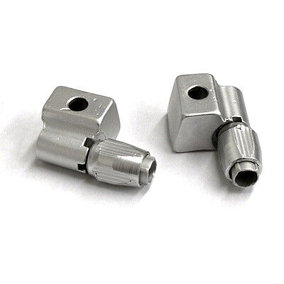 Daijia Down Tube  Gear Cable Stops - Alloy