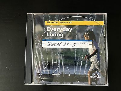 2 PhotoDisc Stock Images Photography CDs—Everyday Living Volume 42