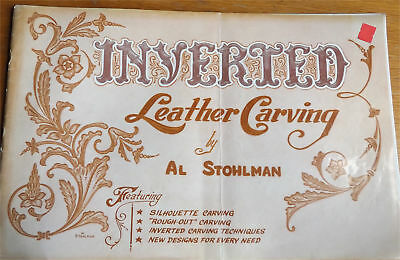 Inverted Leather Carving Al Stohlman  How to Decorate Tooled Patterns in Leather