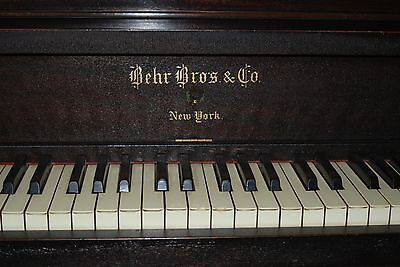Antique Piano - Behr Bros. 1890