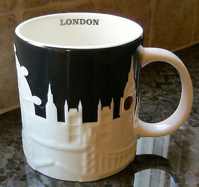 NWT Starbucks LONDON England UK Relief City Collector Mug NEW with SKU