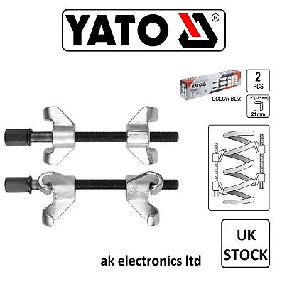 YATO Professional Heavy Duty Coil Spring Clamps Suspension Compressor 2pcs 200mm
