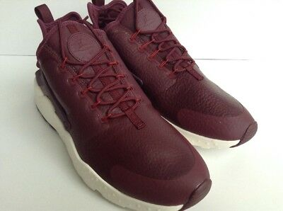 bf7aa16ad4b5 NIKE AIR HUARACHE RUN Womens Maroon Running Shoe 859511-600 MSRP ...
