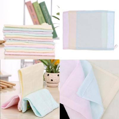 Newborn Baby Face Towel Kids Cotton Reusable Wipes Washcloths Bath Towels