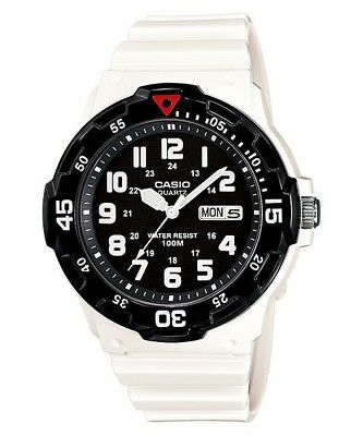 Men's Casio Watch MRW-200HC-7B  Diver Style Rotating Bezel WR 100M EXPRESS POST
